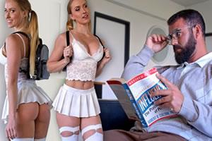 Papa no me deja salir asi vestida porno Tentando A Su Padre Vestida Como Una Autentica Puta